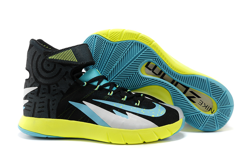 Nike Zoom Hyperrev KYRIE IRVING Black Venom Green Metallic Silver Turbo Green