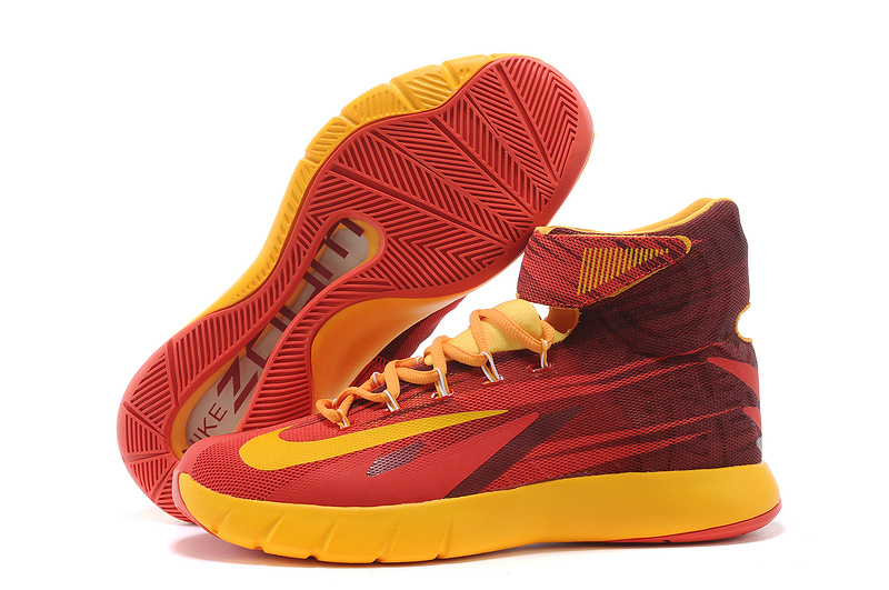 Nike Zoom Hyperrev KYRIE IRVING Cleveland Cavaliers Light Crimson University Gold
