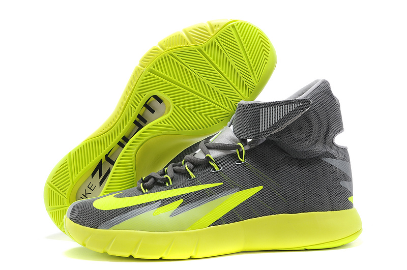 Nike Zoom Hyperrev KYRIE IRVING Dark Grey Wolf Grey-Black-Volt For Sale