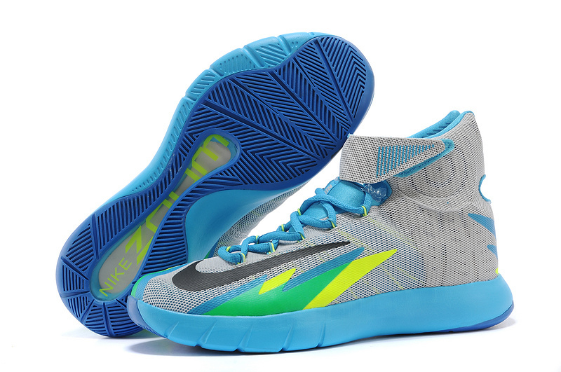 Nike Zoom Hyperrev KYRIE IRVING Grey Vivid Blue-Game Royal-Black For Sale