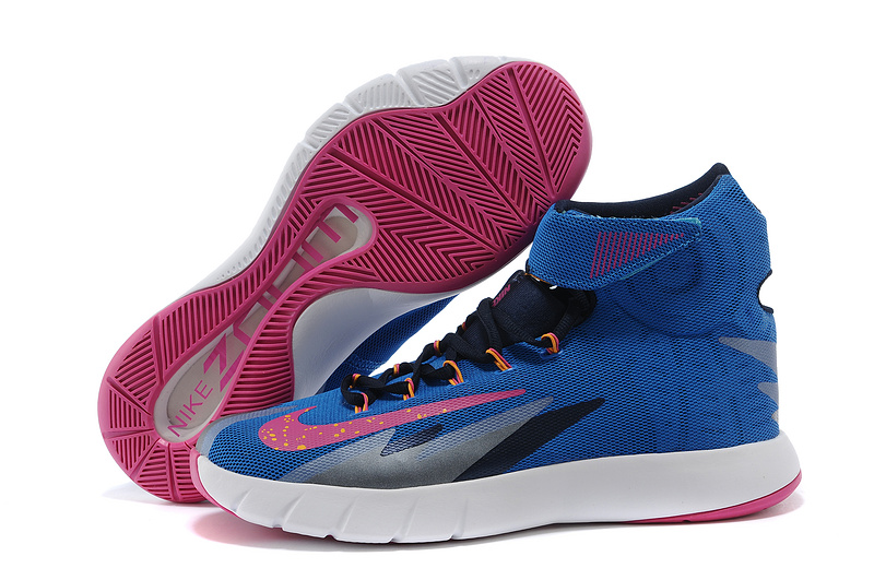 Nike Zoom Hyperrev KYRIE IRVING Photo Blue Vivid Pink Midnight Navy