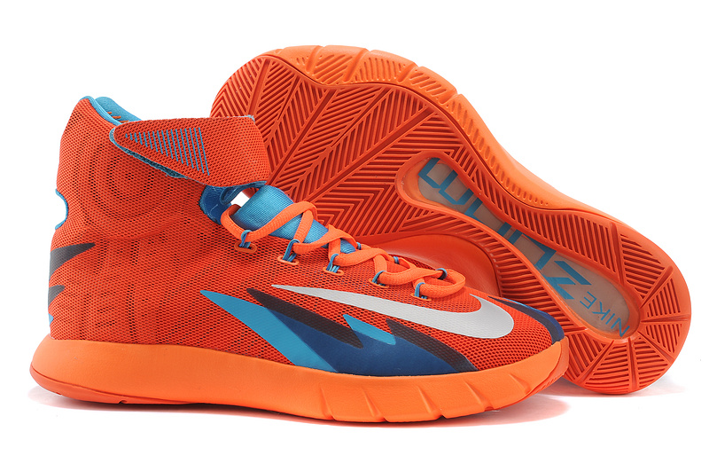 Nike Zoom Hyperrev KYRIE IRVING Team Orange Metallic Silver For Sale