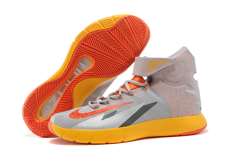Nike Zoom Hyperrev KYRIE IRVING Wolf Grey Team Orange Cool Grey For Sale