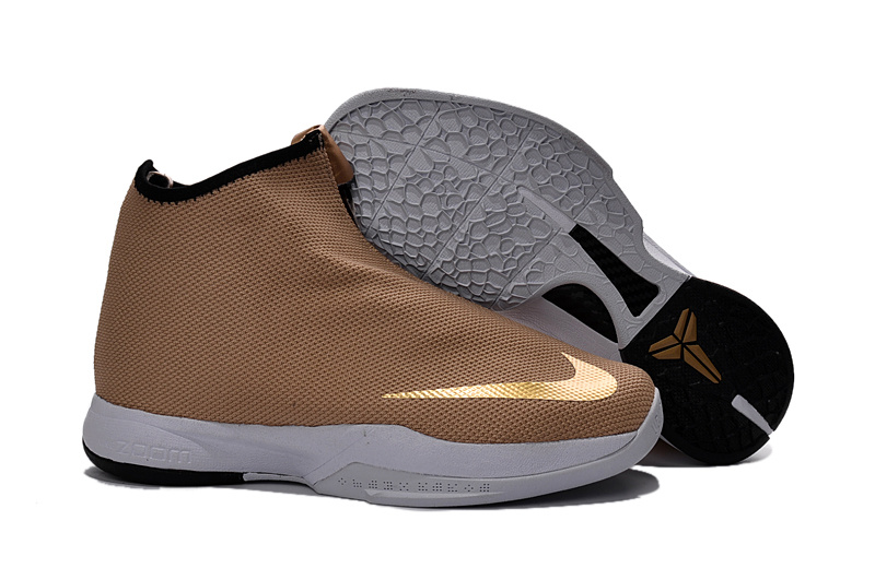 Nike Zoom Kobe Icon Jacquard Metallic Gold 2016