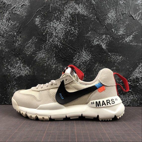 OFF-White X Boys Nike Craft Mars Yard TS NASA 2.0 Beige Red Rouge AA2261-100