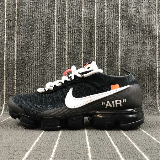 THE 10 Nike Air VaporMax FK 2018 OFF WHITE AA3831-001 Black White Clear Noir Mens Womens