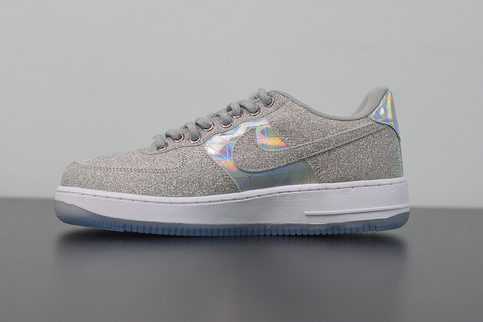 Where To Buy 2019 Womens Cheap Nike Air Force 1 AF1 Low Rebel XX CNY Metallic Silver BV7344-090