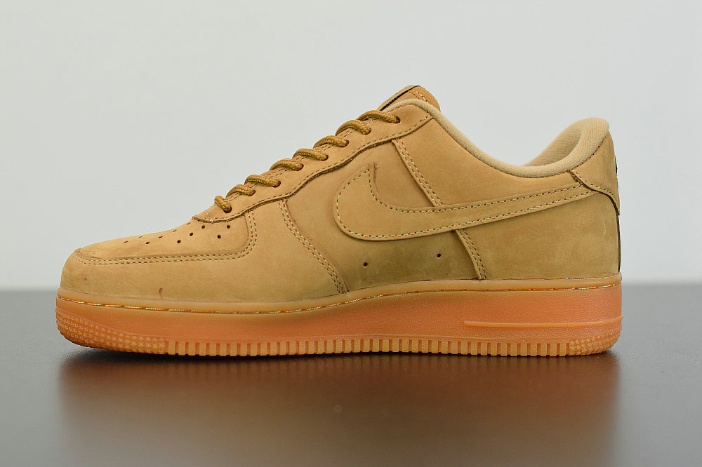 Where To Buy 2019 Womens Cheap Nike Air Force 1 Low 07 LV8 Wheat Flax CJ9179-200