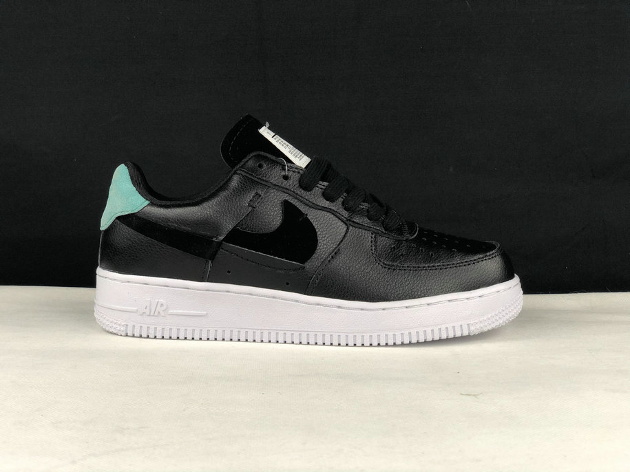 Where To Buy 2019 Womens Cheap Nike Air Force 1 Low Inside Out Black Mystic Green