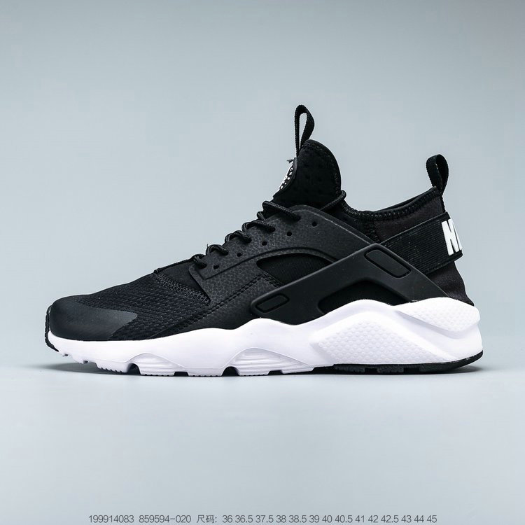 Where To Buy 2019 Womens Cheap Nike Air Huarache Run Ultra Black White Noir Blanc 859594-020