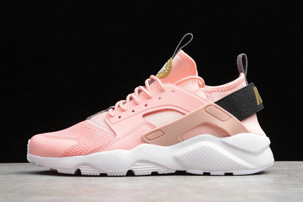 Where To Buy 2019 Womens Cheap Nike Air Huarache Run Ultra Pink Dark Grey-Black 859594-600