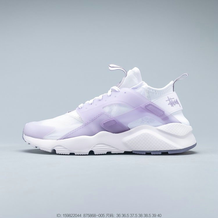 Where To Buy 2019 Womens Cheap Nike Air Huarache Run Ultra Transparent Purple Violet 875868-005