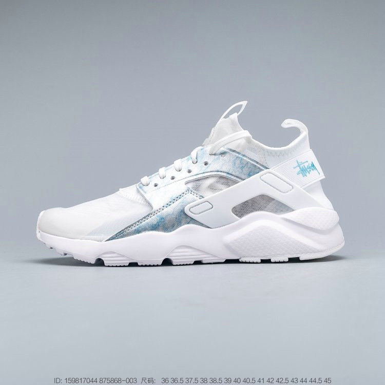Where To Buy 2019 Womens Cheap Nike Air Huarache Run Ultra Transparent Spray Blue 875868-003