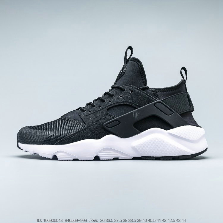 Where To Buy 2019 Womens Cheap Nike Air Huarache Ultra Suede ID Black Reflective Colour Noir Reflectance 846569-999
