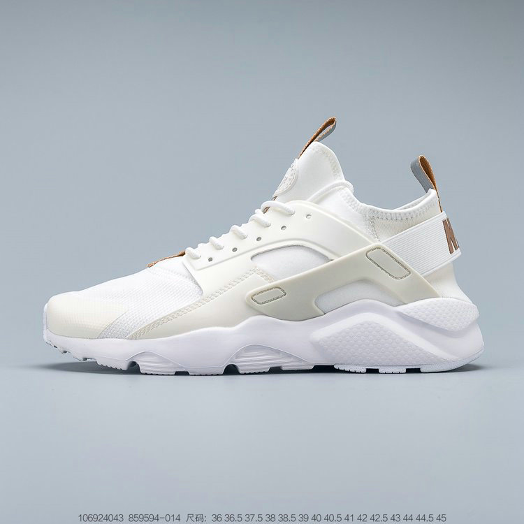 Where To Buy 2019 Womens Cheap Nike Air Huarache Ultra Suede ID Rice White Light Brown Riz Blanc Brun Clair 859594-014