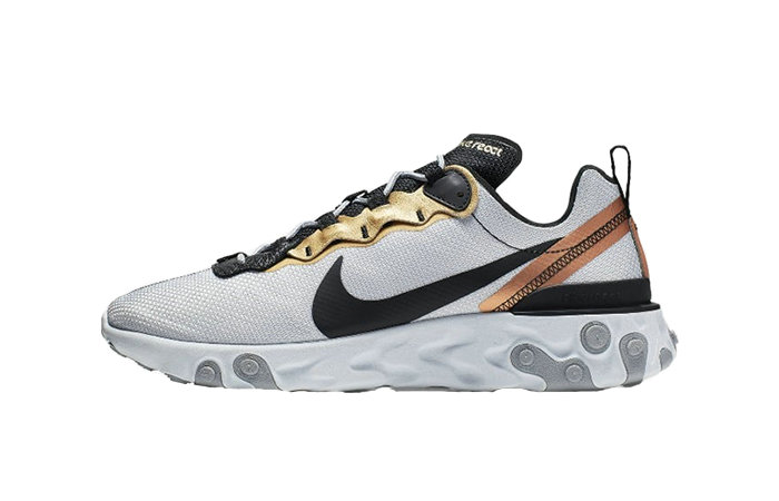 Where To Buy 2019 Womens Cheap Nike React Element 55 Lucid Platinum CD7627-001