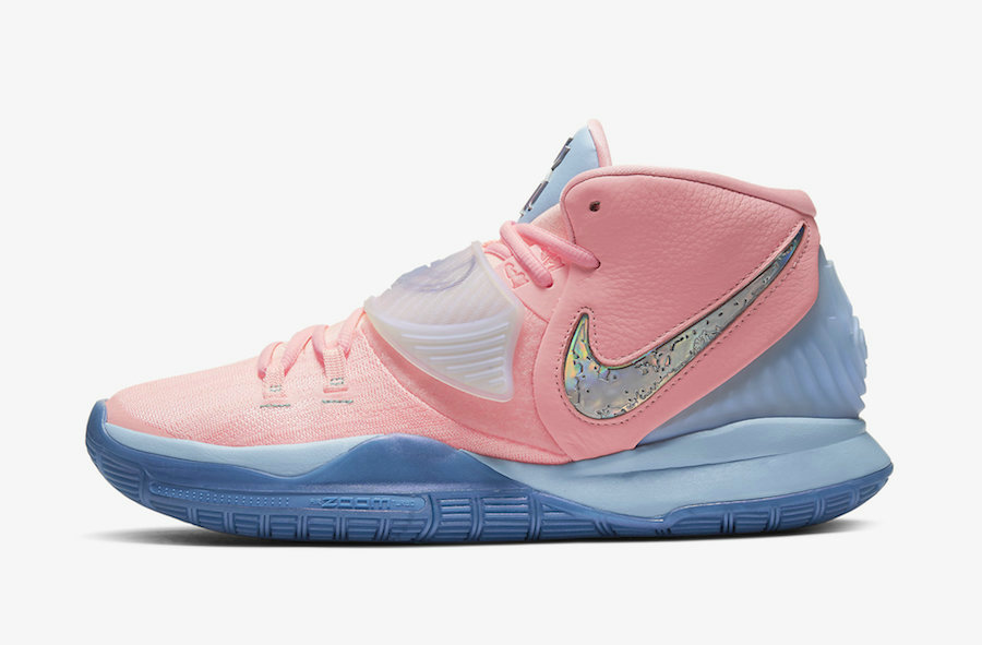 Where To Buy 2020 Cheap Concepts x Nike Kyrie 6 Khepri Pink Tint Guava Ice CU8879-600