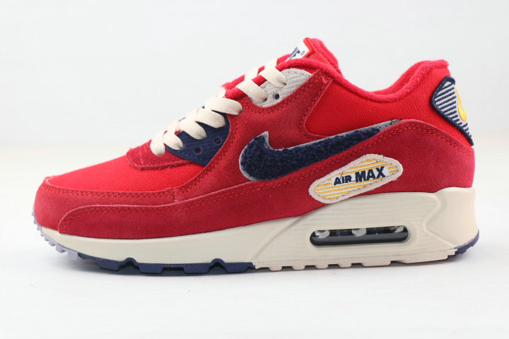 Where To Buy 2020 Cheap Nike Air MAX 90 Vaserty Pack University Red 858954-600