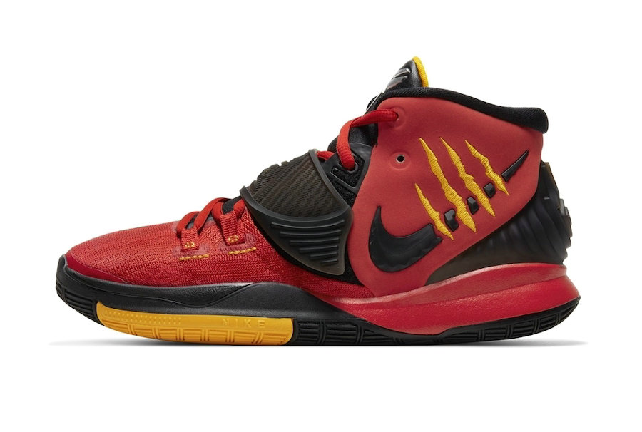 Where To Buy 2020 Cheap Nike Kyrie 6 Bruce Lee Red CJ1290-001