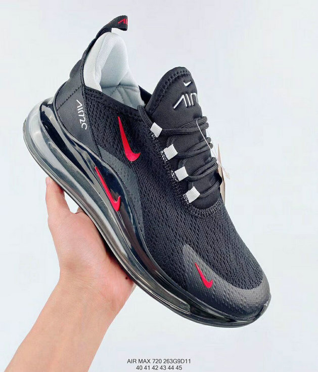 Where To Buy 2020 Mens Cheap Nike Air Max 720 270 Black Red