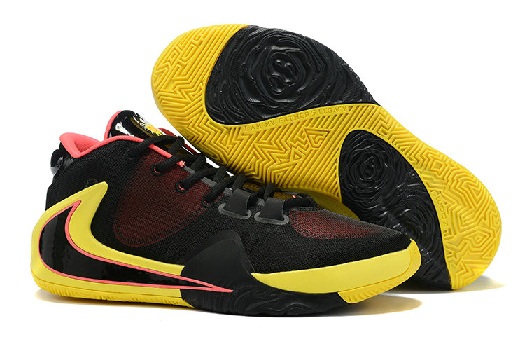 Where To Buy Cheap 2019 Nike Zoom Freak 1 Yellow Black Hyper Pink