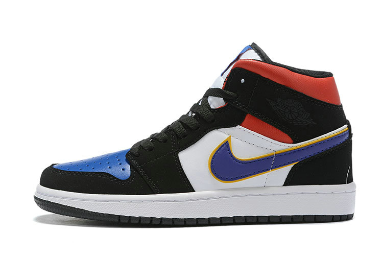 Where To Buy Cheap Nike Air Jordan 1 Mid SE Field Purple White-Gym Red 852542-005