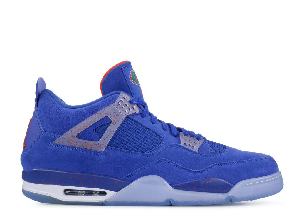 Where To Buy Cheap Nike Air Jordan 4 Florida Gators Pe Florida Gators Blue AJ4-904283