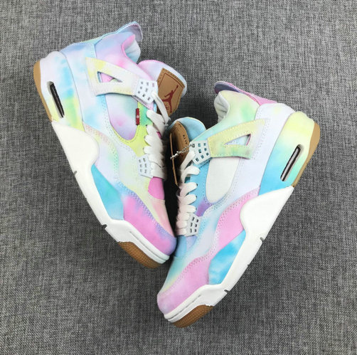 Where To Buy Cheap Nike Air Jordan 4 Retor NRG Levis Multi-Color AO2571-102