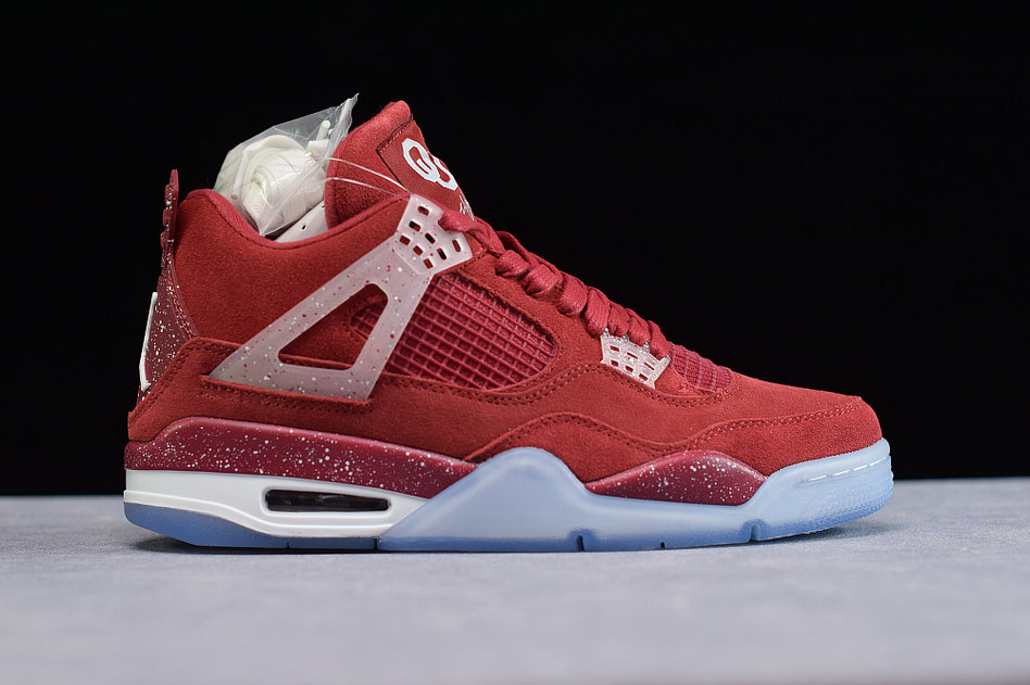 Where To Buy Cheap Nike Air Jordan 4 Retro Claret Red White AJ4-1032076