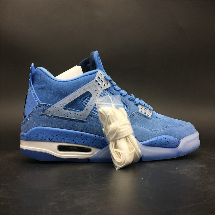 Where To Buy Cheap Nike Air Jordan 4 Retro UNC PE Sky Blue White AJ4-1032070