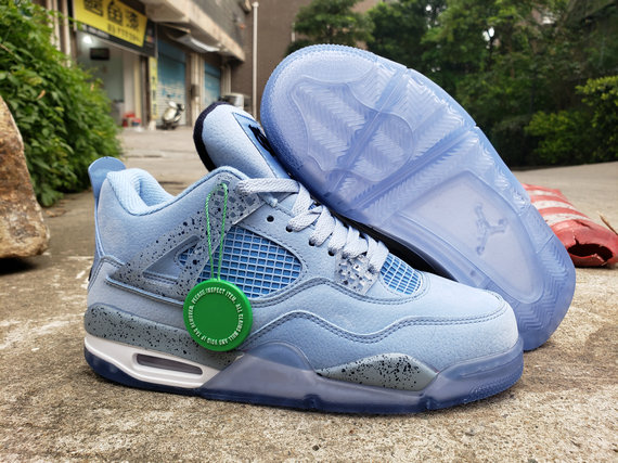 Where To Buy Cheap Nike Air Jordan 4 Retro Water Blue White