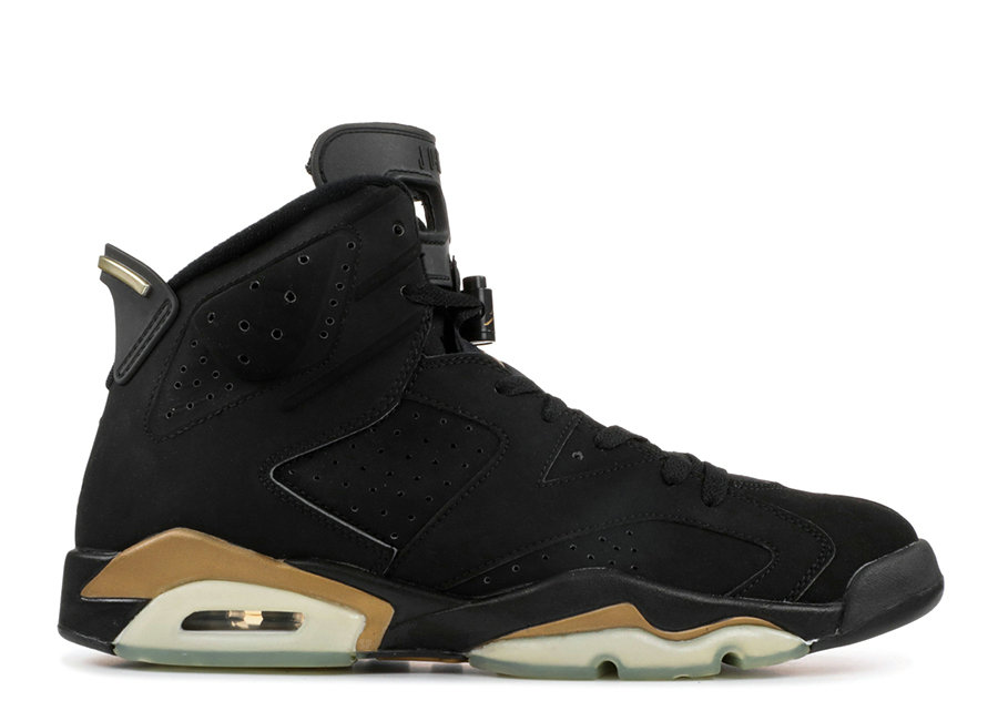 Where To Buy Cheap Nike Air Jordan 6 DMP Black Metallic Gold CT4954-007