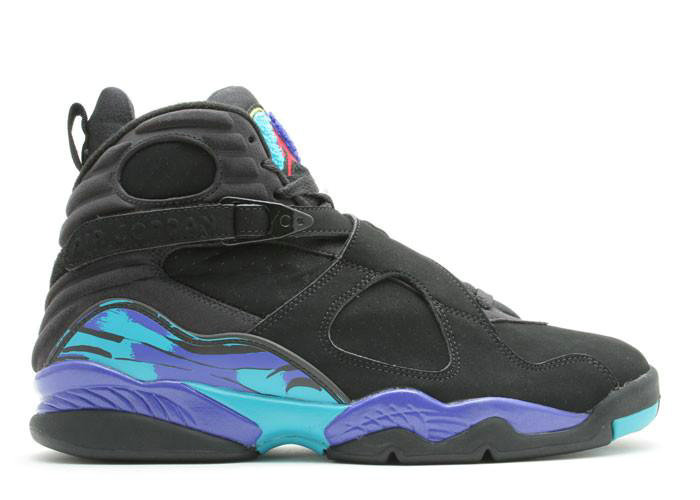 Where To Buy Cheap Nike Air Jordan 8 Aqua Black Flint Grey Bright Concord 305368 025