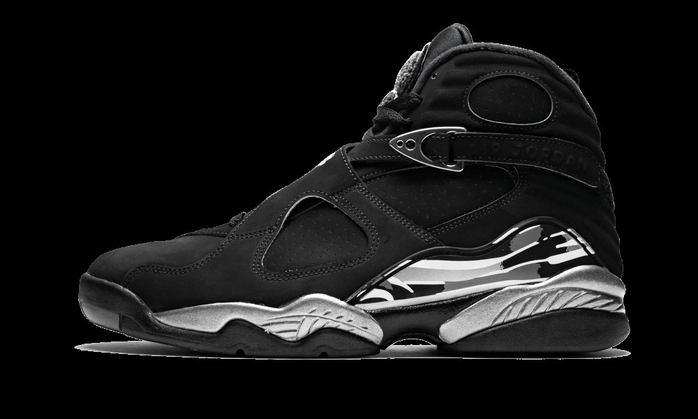 Where To Buy Cheap Nike Air Jordan 8 Black White-Light Graphite 305368-003