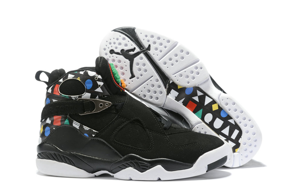 Where To Buy Cheap Nike Air Jordan 8 Quai 54 Black CJ9218-001