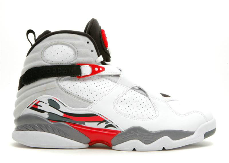 Where To Buy Cheap Nike Air Jordan 8 Retro Countdown Pack White Black-True Red 305368 103