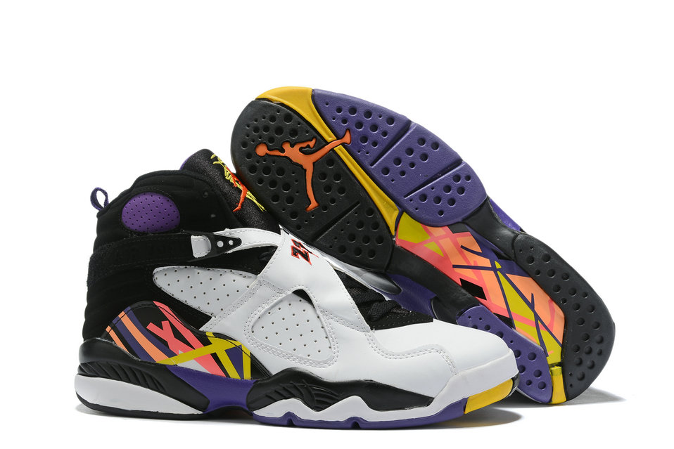 Where To Buy Cheap Nike Air Jordan 8 Retro Three-Peat White Infrared 23-Black-Bright Concord 305381-142