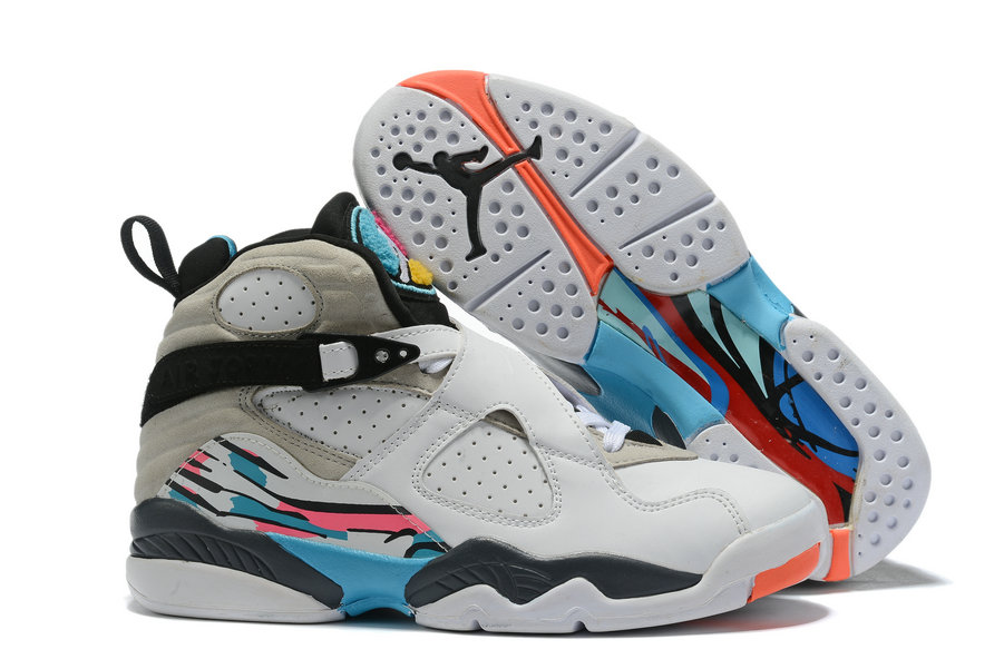 Where To Buy Cheap Nike Air Jordan 8 Retro White-Turbo Green 305381-113