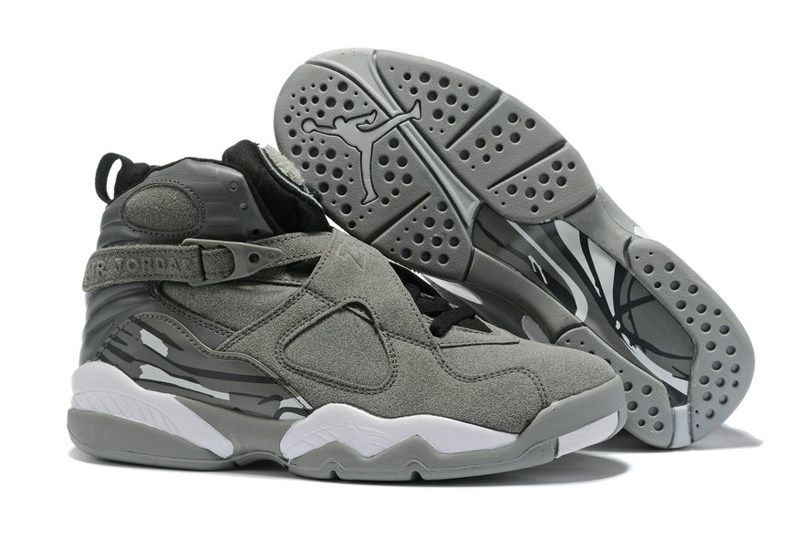 Where To Buy Cheap Nike Air Jordan 8 Retro Wolf Grey Cool Grey 305381-014