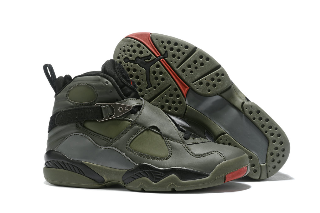 Where To Buy Cheap Nike Air Jordan 8 Take Flight Sequoia Black Wolf Grey Max Orange 305381-305