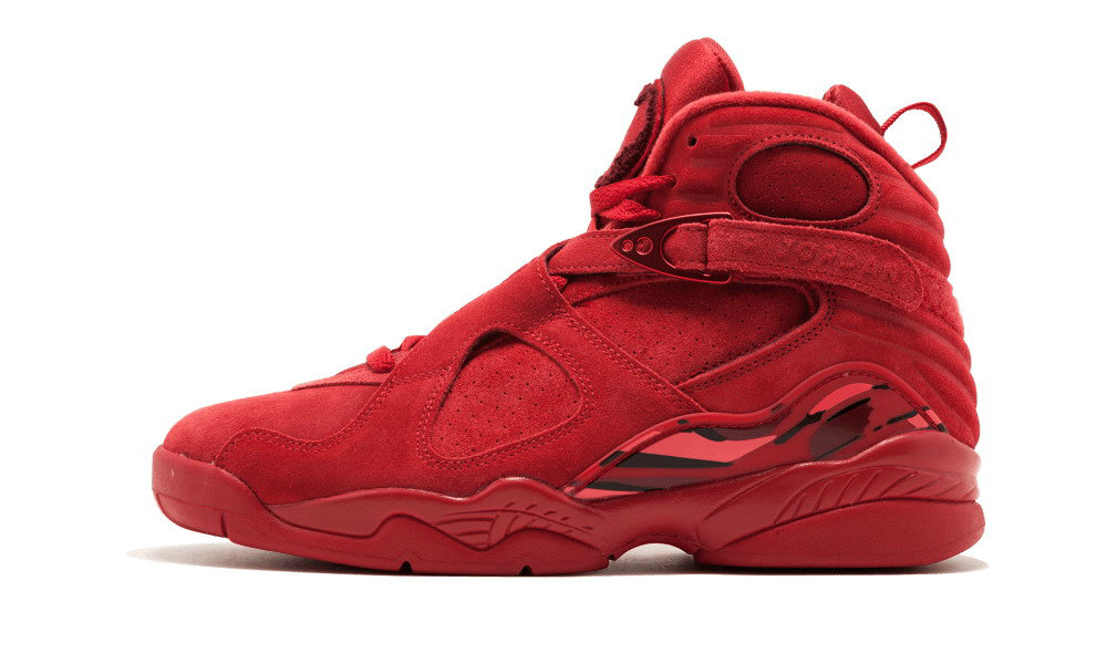 Where To Buy Cheap Nike Air Jordan 8 Vday Valentines Day Gym Red, Ember Glow-Team Red AQ2449 614