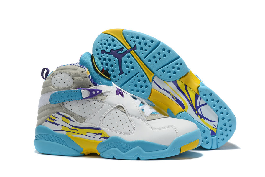 Where To Buy Cheap Nike Air Jordan 8 White Aqua White Varsity Red - Bright Concord CI1236-100