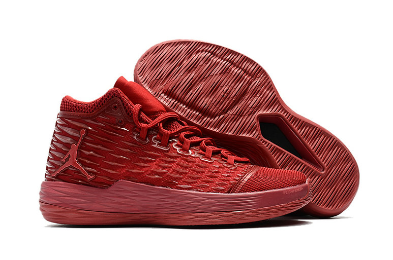 Where To Buy Cheap Nike Air Jordan Melo M13 All-Red 881562-618