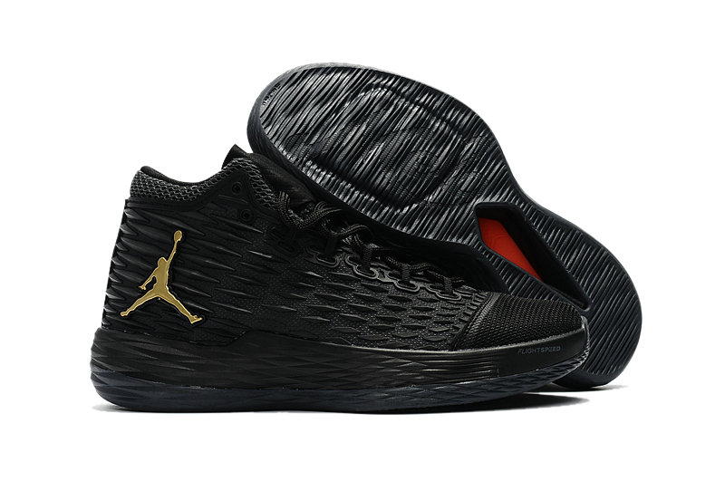 Where To Buy Cheap Nike Air Jordan Melo M13 Black Metallic Gold-Anthracite 881562-004