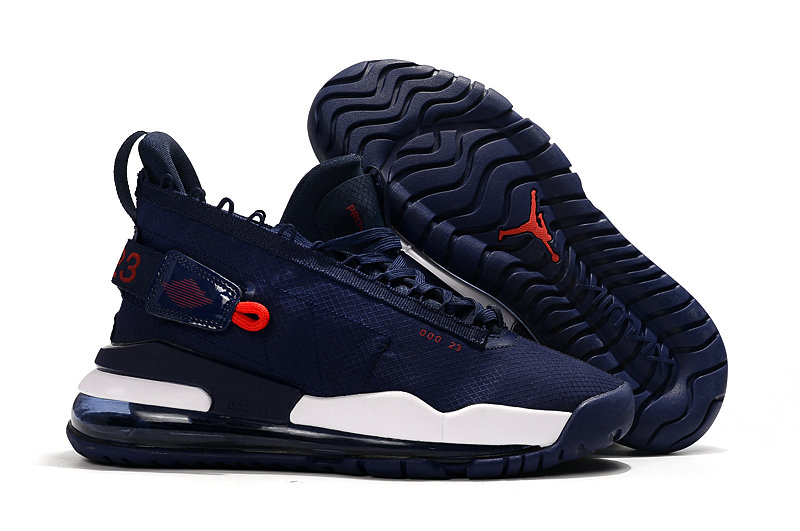 Where To Buy Cheap Nike Air Jordan Proto Max 720 Navy Blue Red White