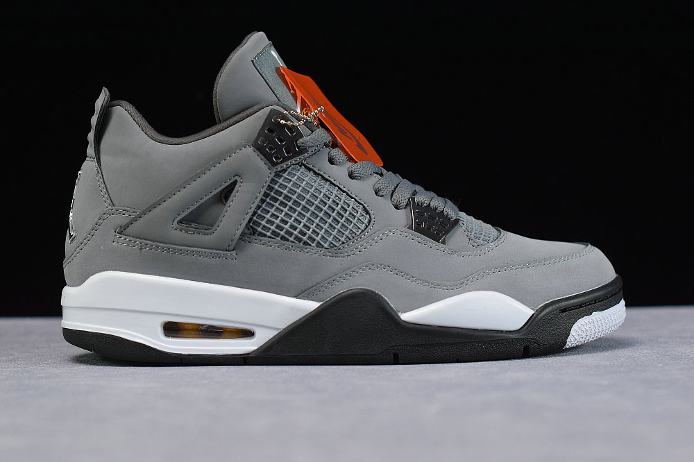 Where To Buy Cheap Nike Air Jordans 4 Cool Grey Chrome Dark Charcoal Gris Frais Chrome 308497-007