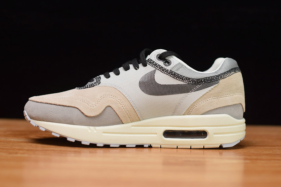 Where To Buy Cheap Nike Air Max 1 Phantom Black-Pure Platinum-Wolf Grey-Sail 858876-013