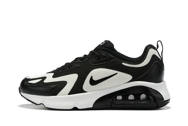 Where To Buy Cheap Nike Air Max 200 Black White