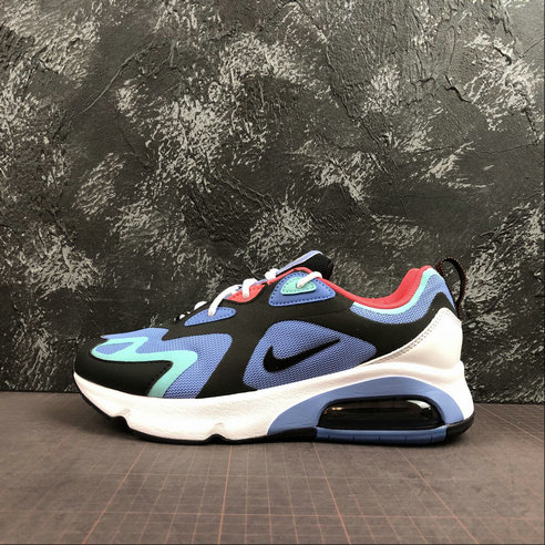 Where To Buy Cheap Nike Air Max 200 Royal Pulse Oil Grey Pulsation Gris Petrole AQ2568-401