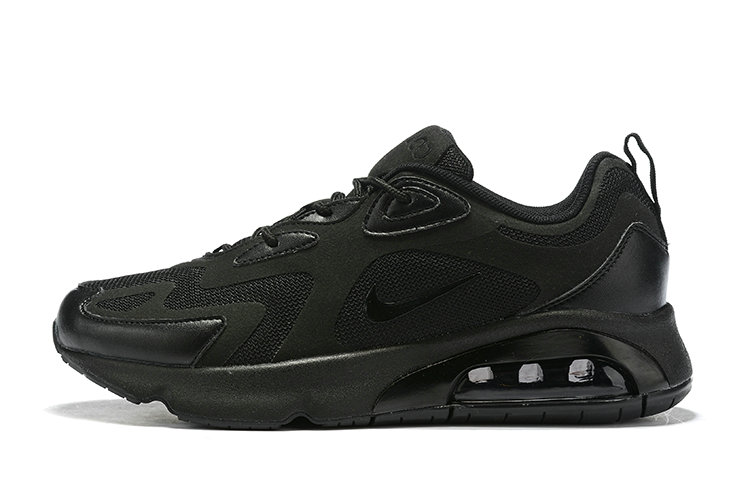 Where To Buy Cheap Nike Air Max 200 Triple Black